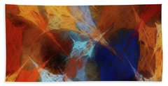 Andee Design Abstract 35 2017 Beach Towel