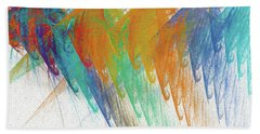 Andee Design Abstract 41 2017 Beach Towel