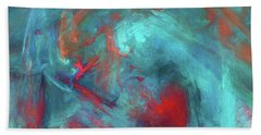 Andee Design Abstract 47 2017 Beach Towel
