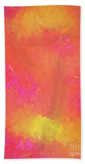 Beach Towel featuring the digital art Andee Design Abstract 5 2018 by Andee Design
