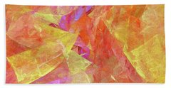 Andee Design Abstract 6 2017 Beach Towel