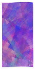 Beach Towel featuring the digital art Andee Design Abstract 75 2017 by Andee Design