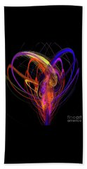 Beach Towel featuring the digital art Andee Design Abstract 91 2017 by Andee Design