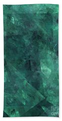 Beach Towel featuring the digital art Andee Design Abstract 97 2017 by Andee Design