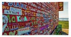 Anderson Warehouse Graffiti  Beach Sheet