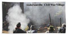 Andersonville Civil War Village Beach Towel
