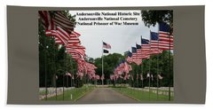 Andersonville National Park Beach Towel by Jerry Battle