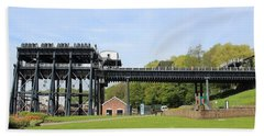 Anderton Boat Lift Beach Towel
