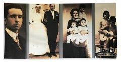 Andrea Bocelli Family Beach Towel