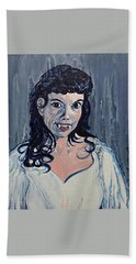 Andree Melly As Gina In The Brides Of Dracula  Beach Towel