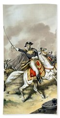 Andrew Jackson At The Battle Of New Orleans Beach Towel