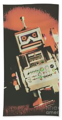 Android Short Circuit  Beach Towel
