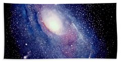 Andromeda Galaxy Beach Towel