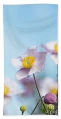 Anemone  Elegans Flowers Beach Towel