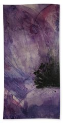 Anemone Beach Sheet by Marna Edwards Flavell