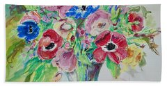 Anemones Beach Towel