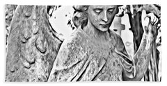 Angel Altered Beach Towel