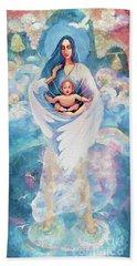Angel Blessing Beach Towel