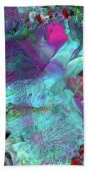 Angel Daphne Flowers #2 Beach Sheet