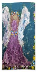 Angel Diva Beach Towel