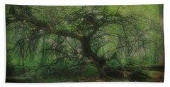 Angel Oak Tree - Arrington Vineyard Beach Towel