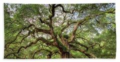 Angel Oak Tree Of Life Beach Sheet