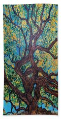 Angel Oak Young Beach Towel