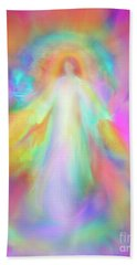 Angel Of Forgiveness And Compassion Beach Sheet