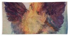 Angel Of Hope Beach Towel