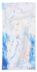 Angel Of Peace Beach Towel