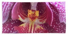 Angel Orchid Beach Towel