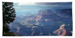 Angel S Gate And Wotan S Throne Grand Canyon National Park Beach Towel