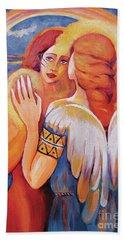 Angel Touch Beach Towel