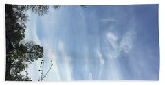 Angel Walk Back Through Time Beach Towel