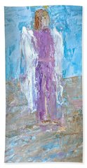 Angel With Confidence Beach Towel