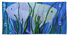Angelfish Duo Beach Towel