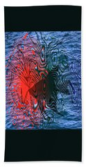 Angelfish Beach Towel