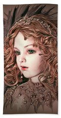 Angelic Doll Beach Towel