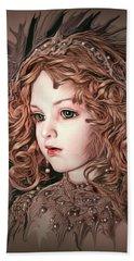 Angelic Doll Beach Sheet