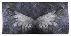 Angelic Visitation Beach Towel