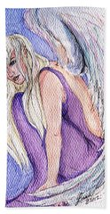 Angels Among Us Beach Towel
