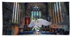 Angels Love And Guidance Beach Sheet