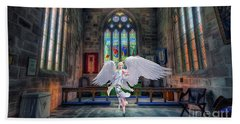 Angels Love And Guidance Beach Towel