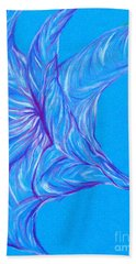 Beach Towel featuring the photograph Angel's Trumpet by Kim Sy Ok