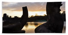 Angkor Sunrise 5 Beach Towel