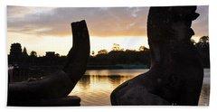 Angkor Sunrise 5 Beach Sheet