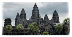 Angkor Wat Focus  Beach Towel by Chuck Kuhn