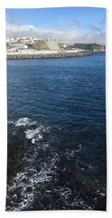 Beach Towel featuring the photograph Angra Do Heroismo, Azores by Kelly Hazel