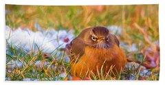 Angry Bird Beach Towel