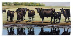 Angus Reflections Beach Towel